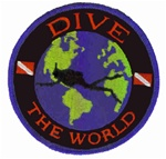 Dive The World - Stick On Backing