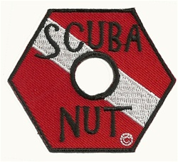Scuba Nut- Wholesale  - 20 patches