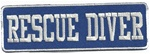 Rescue Diver - Blue and White-WHOLESALE