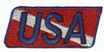 USA Dive Flag - Stick On Backing.