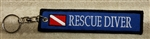 RESCUE DIVER  Ring - Zipper Pull-