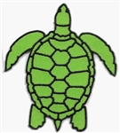 GREEN TURTLE PATCH - Wholesale 20 Patches