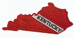 Kentucky Shapped Dive Patch