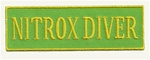 NITROX DIVER GREEN AND YELLOW