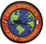 Philippines Dive The World Patch